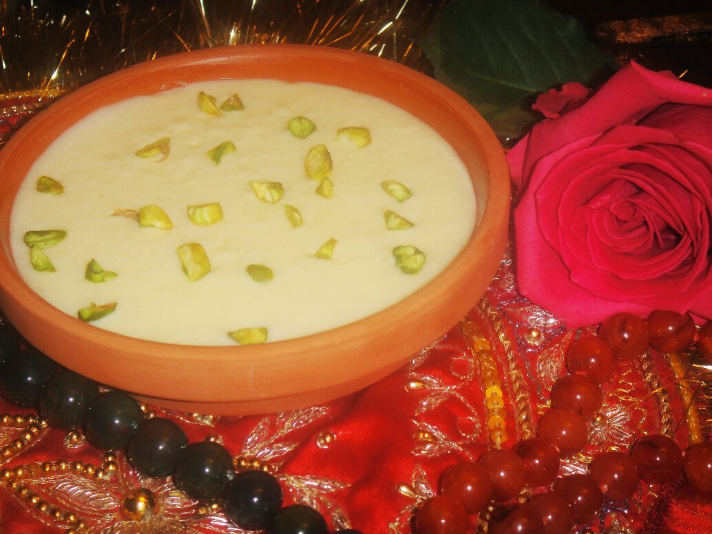 pistachio falooda