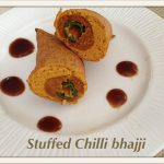 stuffed chilli bhajji