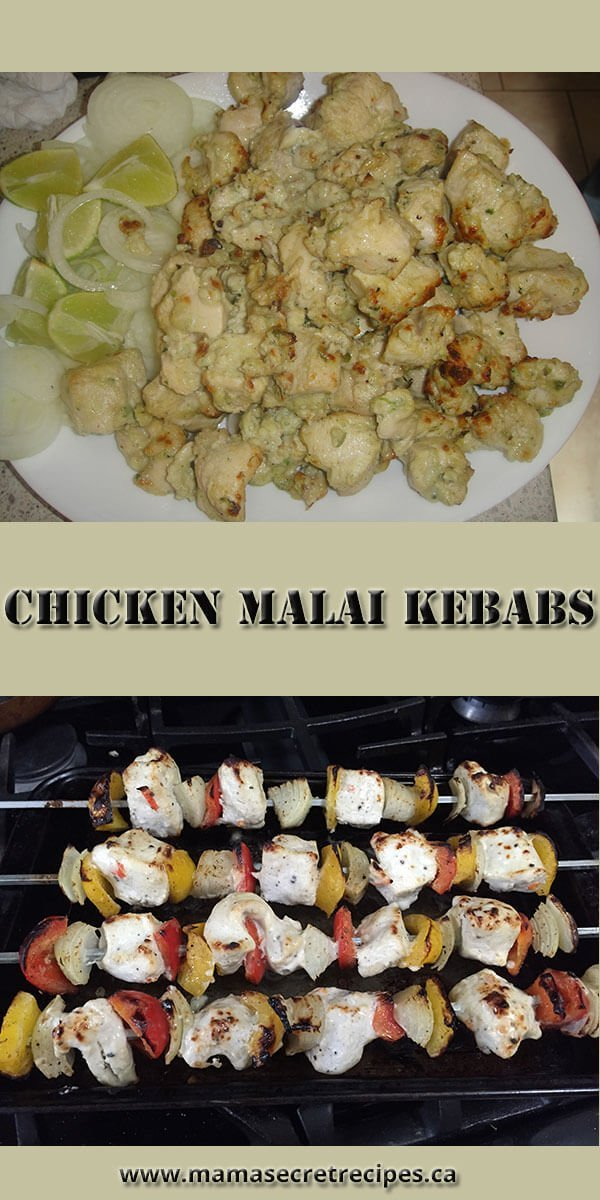 malai chicken kebabs