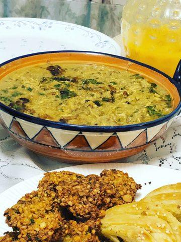 multigrain lentil meat porridge