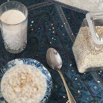 talbina (barley porridge)