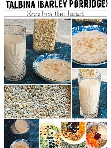 talbina barley porridge
