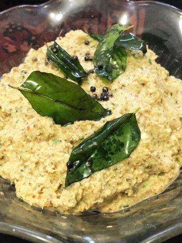 green tamarind chutney, kachi imli ki chutney, bote ki chutney