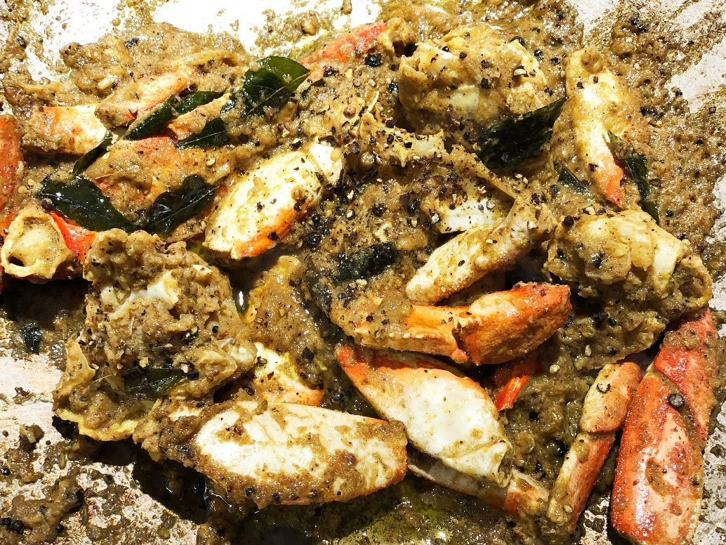 Black Pepper Crab, my style!