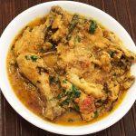 Easy chicken korma, chicken curry