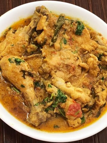 Easy chicken korma, chicken curry