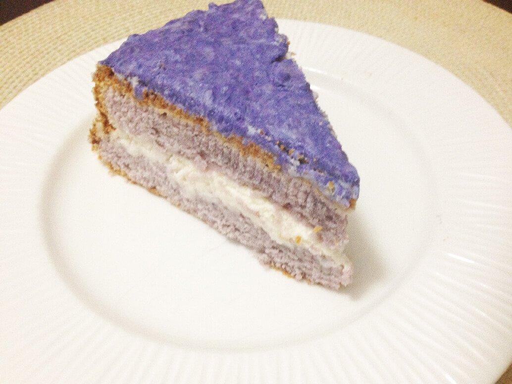 Purple Yam Cake