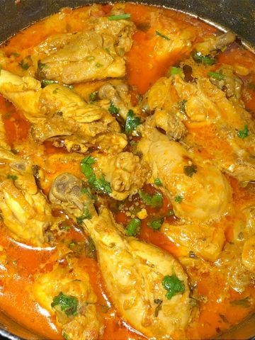 traditional madrasi chicken korma