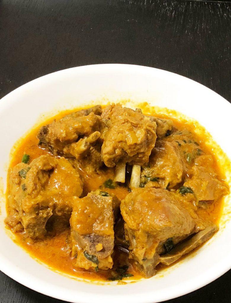 Instant Pot Lamb Curry