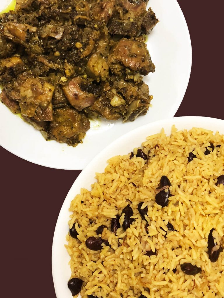 pepper masala with rajma rice