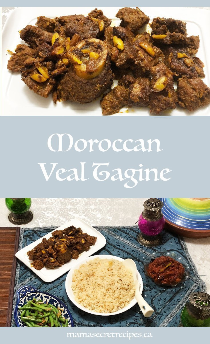 Moroccan veal tagine