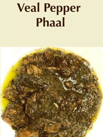 easy instant pot veal pepper phaal