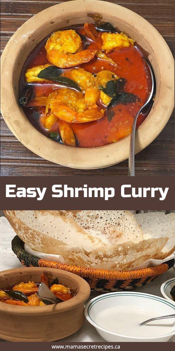 easy shrimp curry