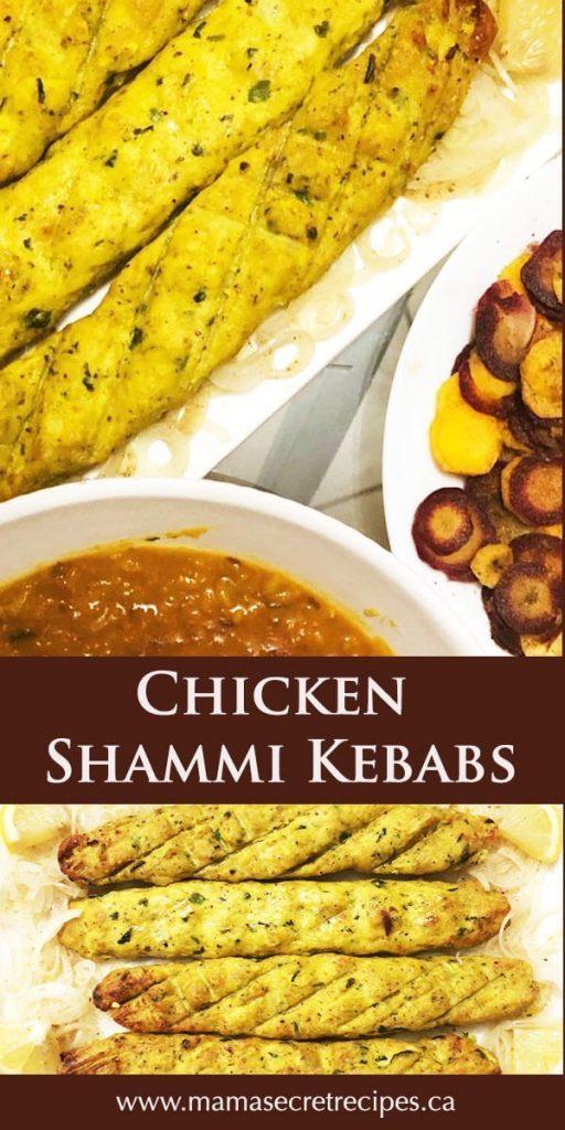 chicken shammi kebabs