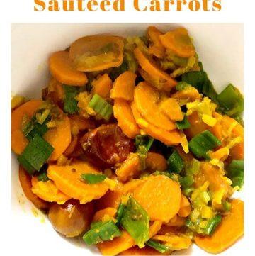 carrot ginger sabzi